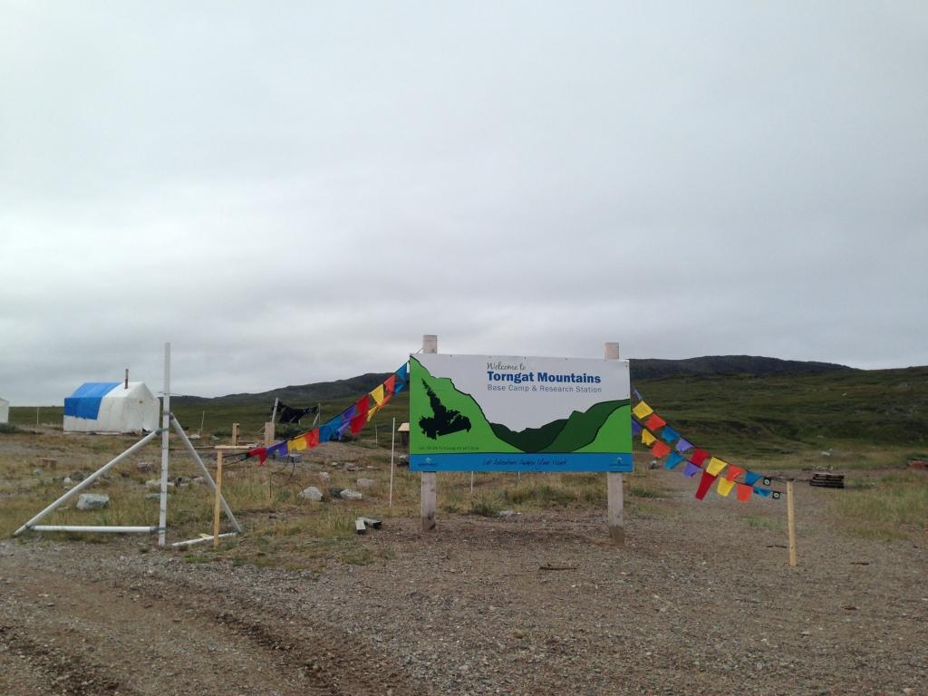 Bienvenue au camp de base du parc national des Monts-Torngat!