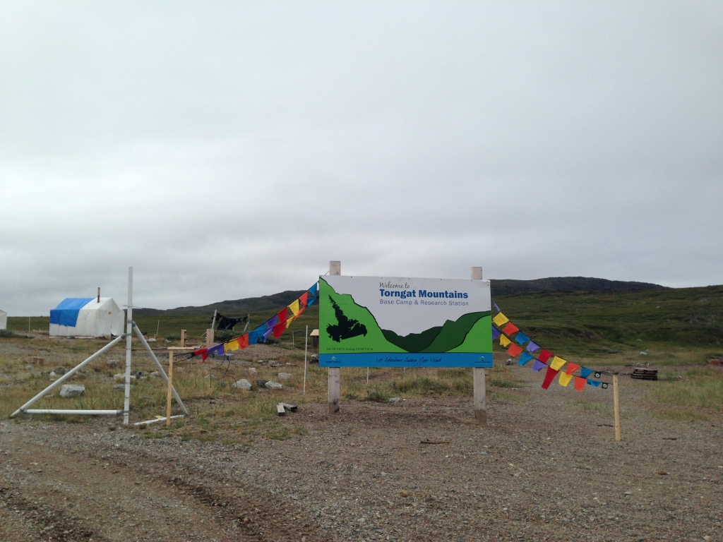 Bienvenue au camp de base du parc national des Monts-Torngat!