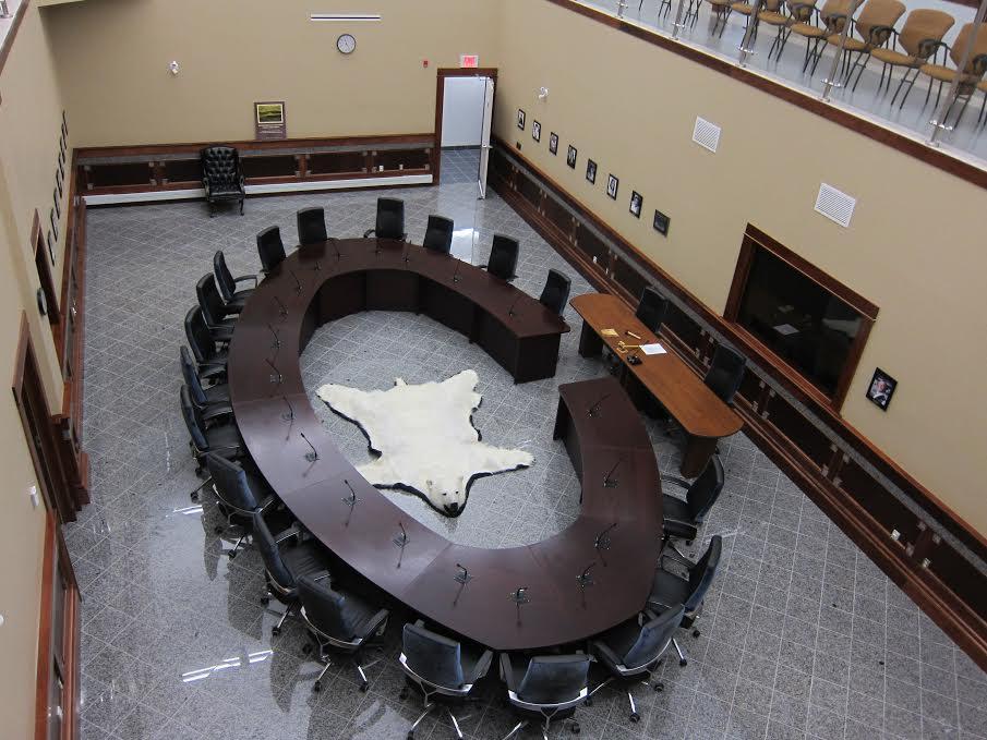C'est à Hopedale que siège l'Assemblée du Nunatsiavut.